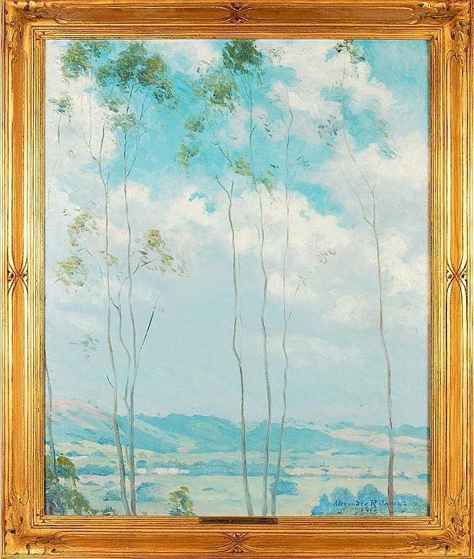 Alexander James oil on canvas