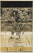 "Arthur Thrall (b. 1926) ""Ceremonial Document"""