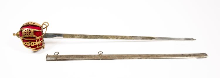 Scottish Basket Hilt Officer's Sword