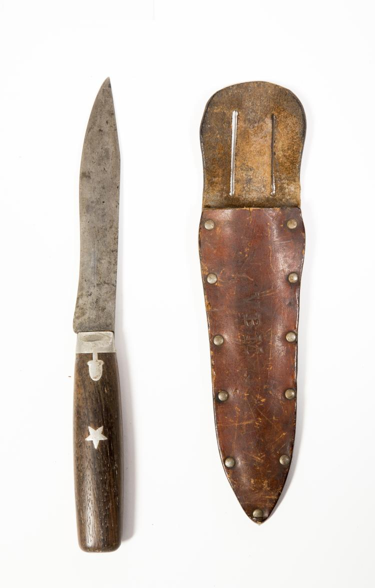 Small American Clip Point Bowie