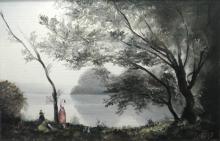 Nikola Kovac, Three Women on the Bank of a Reservoir
