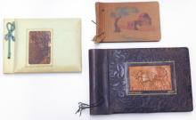 Collection of 3 of old Eretz Israel photo albums