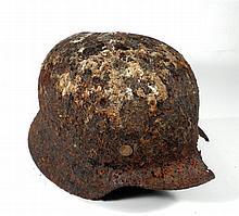 Old helmet, apparently Nazi German