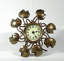 Desktop alarm clock