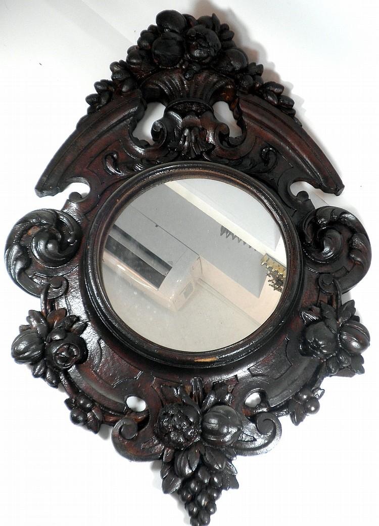 Antique style wall mirror for Old style mirror