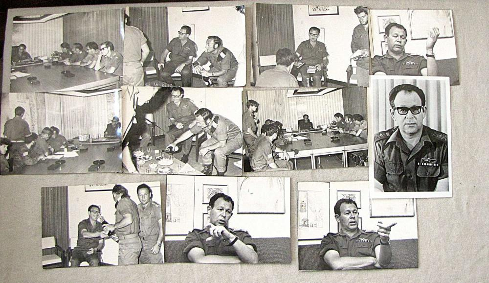 Archive of Motta Gur, 11 Military Photos of Motta and other persons
