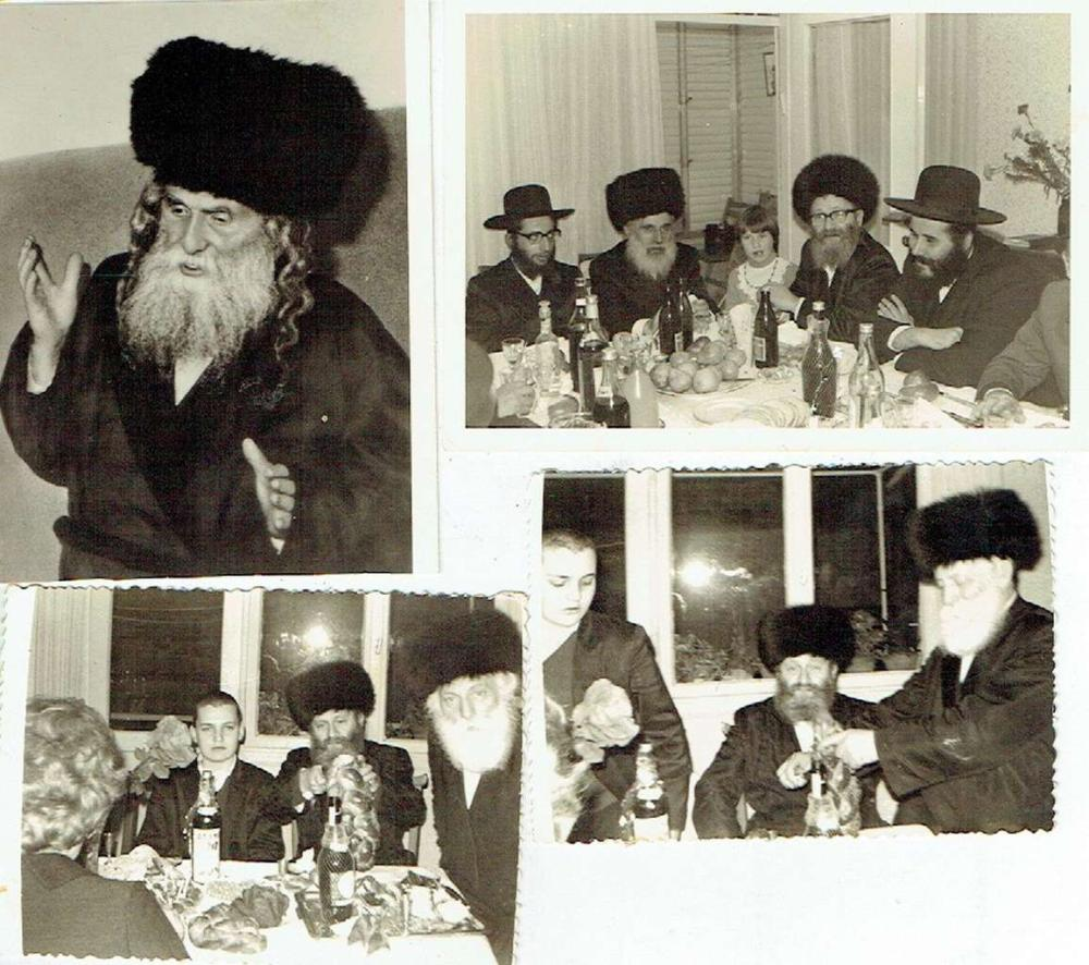 4 Orig. photographs of Rabbis, 1970s,  One photo has a stamp of photographer, Jerusalem