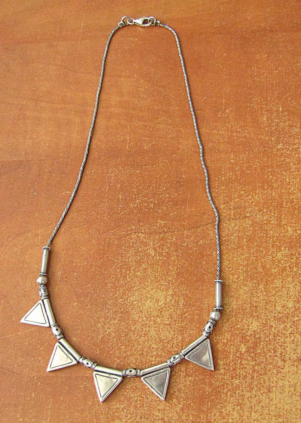 Shablool vintage silver sterling necklace, signed, 14gr.
