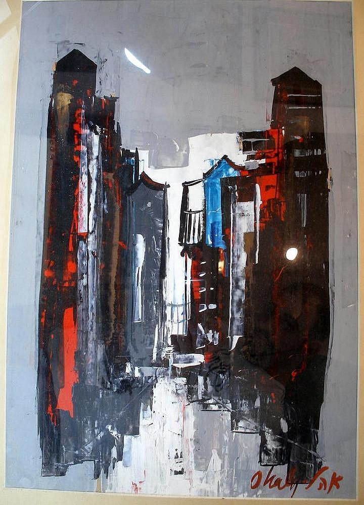 Saul Ohali, urban landscape
