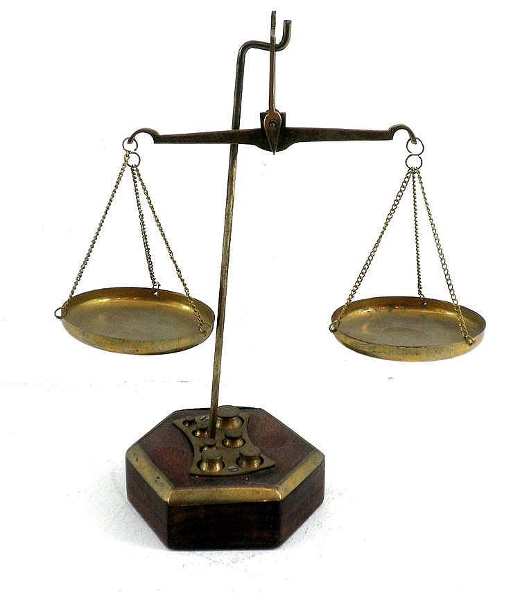 pan balance scale - photo #2