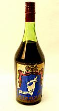 Old bottle of Independence wine, Eshkol brothers, Motza