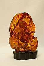 Large engraving in form of an Amber  : ????? ???? ????? ????