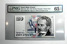 20 shekel banknote, 1987