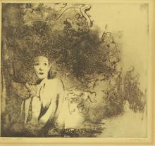 Esther Perez Arad (1921-2005), figure of a woman