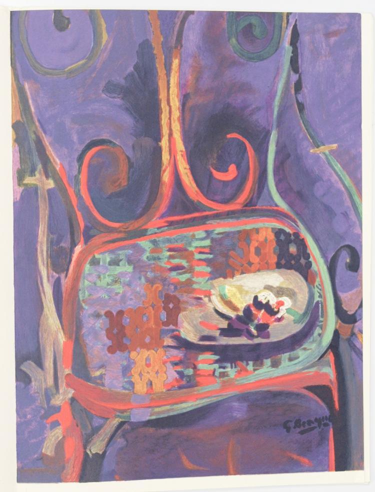 Georges braque 1862 1963 derriere le miroir journal for Miroir paris 18