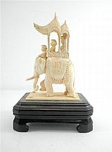 Old, high quality, Indian ivory carving.
