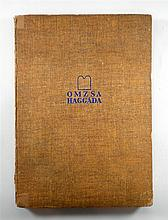 A Passover Hagaddah, published by Orszagos Magyar Zsido segito akcio – OMZSA, Budapest, 1942.