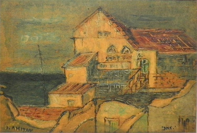 Yitzhak Amitai (1907 – 1984), a house in the artists' colony in Zephath.