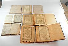 Lot, 10 holy books.
