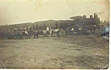 Antique photo Railway station in Hadera, Palestine 1920-30s photo crystal Jerusalem