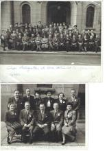 2 photos of the participants in the Congress in Johannesburg, 1952