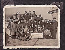 Bezalel, olive wood photoalbum ?Ha-kibbutz ha-dati?, 42 photos,1940s