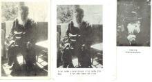 Orig. photo and 2 prints of rabbi Shlomo Alter