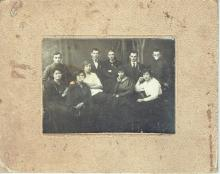 Antique group photo of jewish peaple, Poland, 1930s