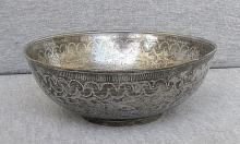 Afghanistan antique silverplated Kiddush cup