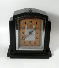 Alarm Art Deco desk clock