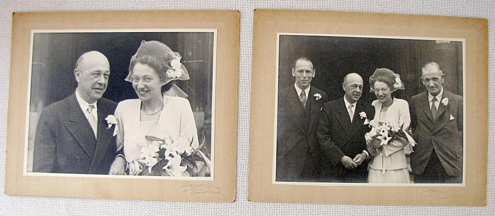 PRINCESS MARGARET, SISTER OF OF QUEEN ELIZABETH II. 2 ORIG. PHOTOPRESS PHOTOS, SIGNED IN PENCIL BY PHOTOGRAPHER