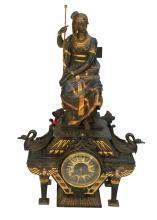 Egyptian Revival Clock circa 1880