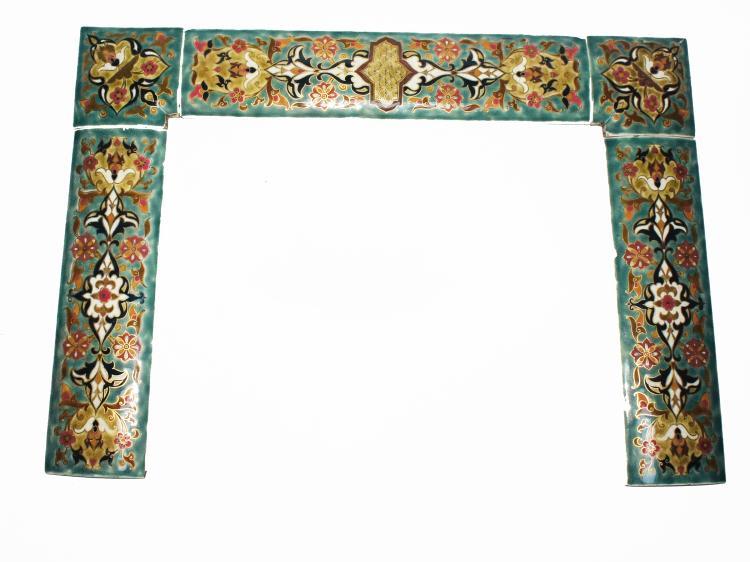 Zsolnay Iznik, Turkish design pottery tiles