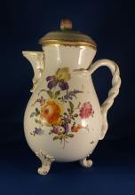 Royal Vienna 19th Century Chocolate Pot Porcelain Manufactory