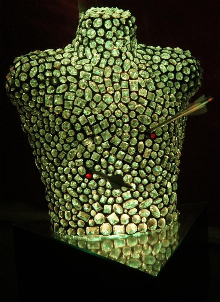 Crystal Sculpture St. Sebastian