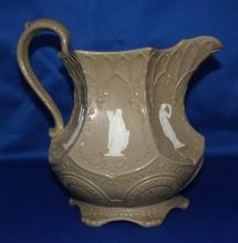 English 19th century Wedgwood Gothic Pitcher