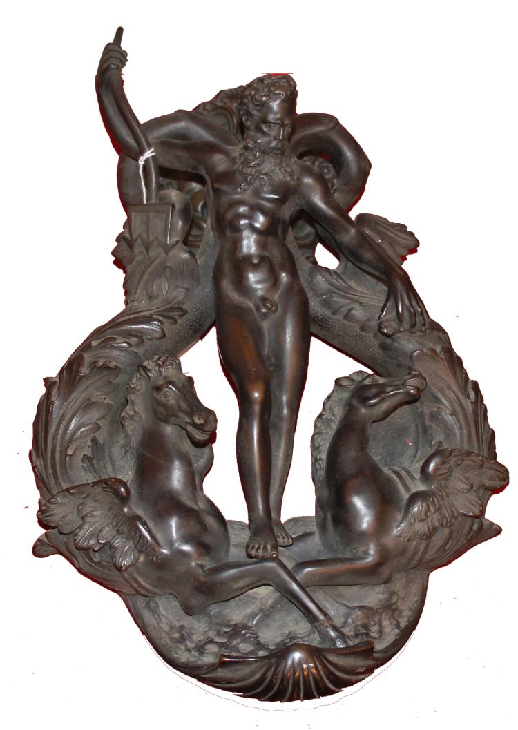 Bronze Italian Door Knocker design by Alessandro Vittoria