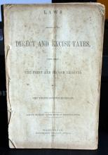 Abraham Lincoln Civil War Congressional Printed Messages to Congress 1861