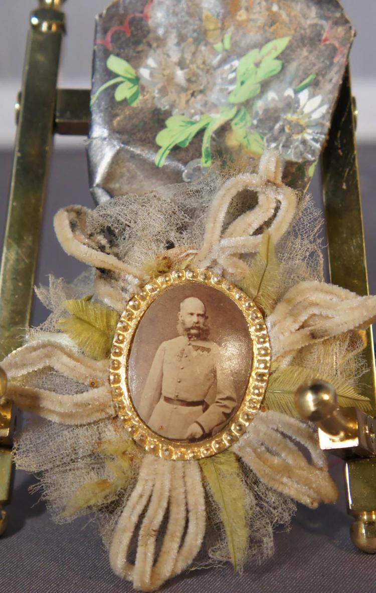 Habsburg Emperor Franz Josef Imperial Ball Party Favor Vienna Austria