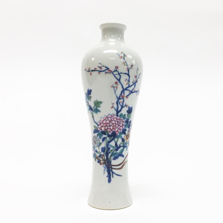 Chinese Porcelain Familia Rose Vase