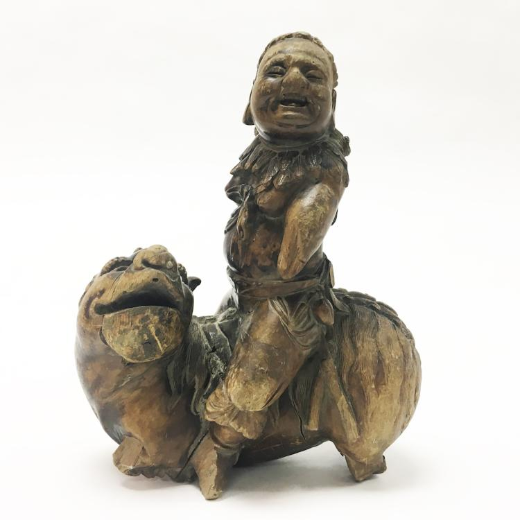 14-15th Century Wood Carving