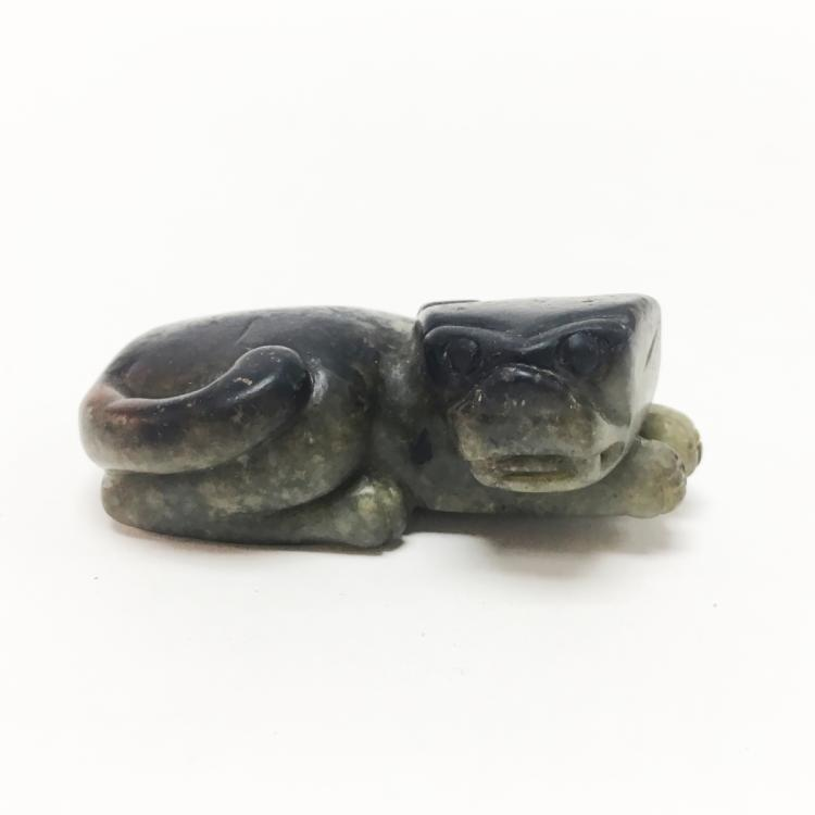 Chinese Carved Jade Dog or Lion