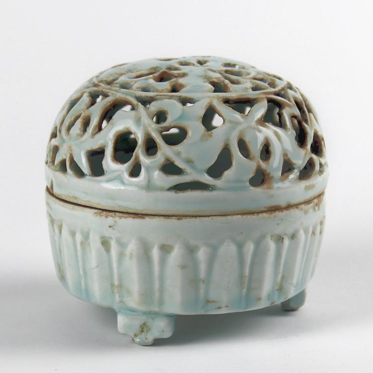 Chinese Ching-pai Porcelain Censer