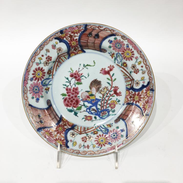 Chinese Yongzheng Plate