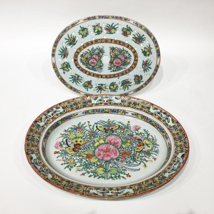 Chinese Export Mazarine c.1840-50