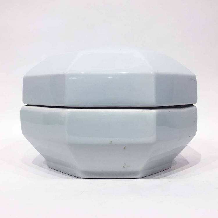 Chinese Blanc de Chine Porcelain Box