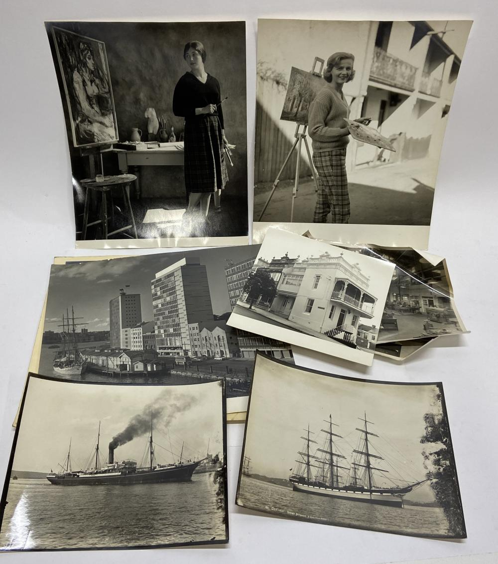Artists & Sydney Views (8 b/w Photographs)