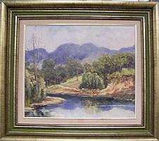 Rae Mackenzie Gloucester NSW Oil on canvas on board
