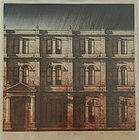 Michael Kempson (b.1961) Mid-Afternoon Facade 1984 Colour etching ed. A/P