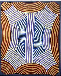 Ada Bird Petyarre (c.1930-2009) Utopia Body Paint 1989 Acrylic on canvas